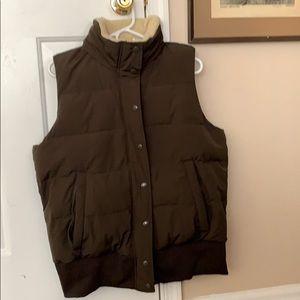 Banana Republic brown XL vest